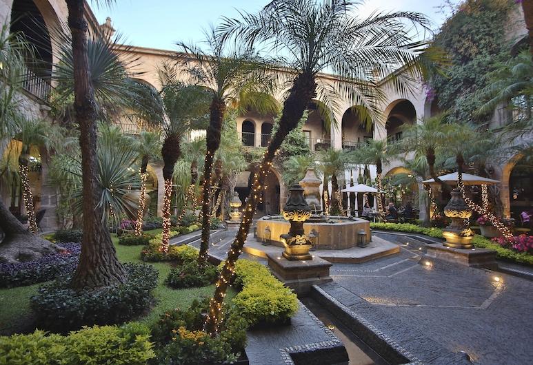 Hotel de la Soledad, Morelia, Terrasse/Patio