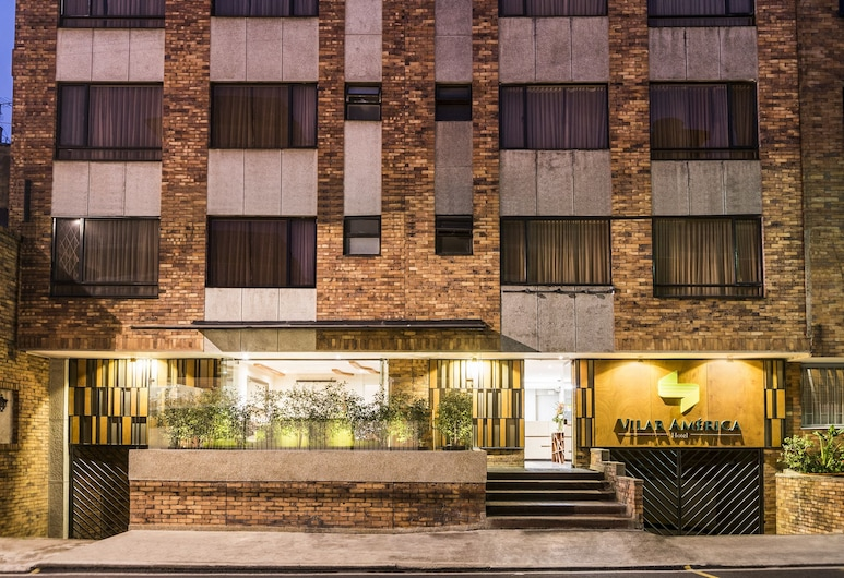 Hotel Vilar America, Bogotá, Facciata hotel