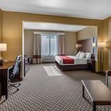 סוויטה, מיטת קינג וספה נפתחת, נגישות לנכים, ללא עישון - חדר אורחים