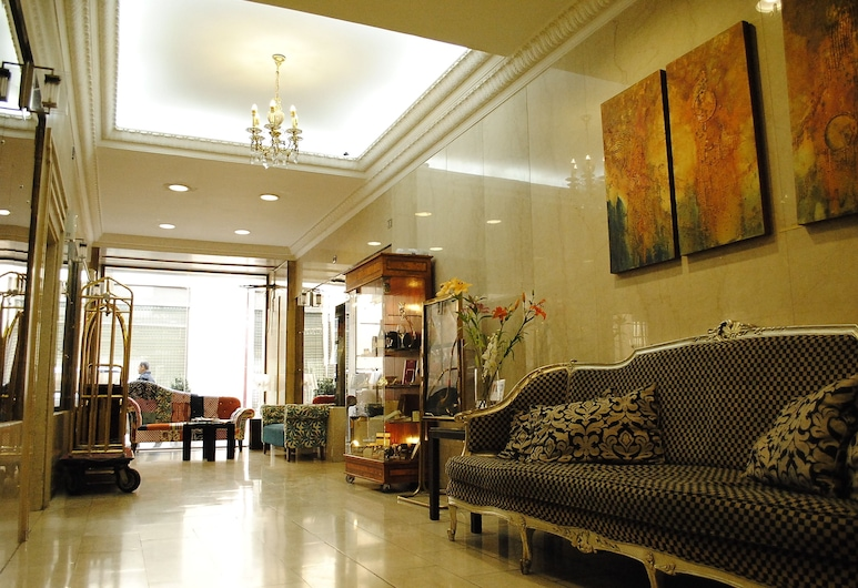Hotel Panamericano, Santiago, Sitteområde i lobbyen