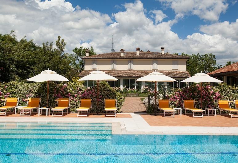 Villa Abbondanzi Resort, Faenza, Piscina Transbordante