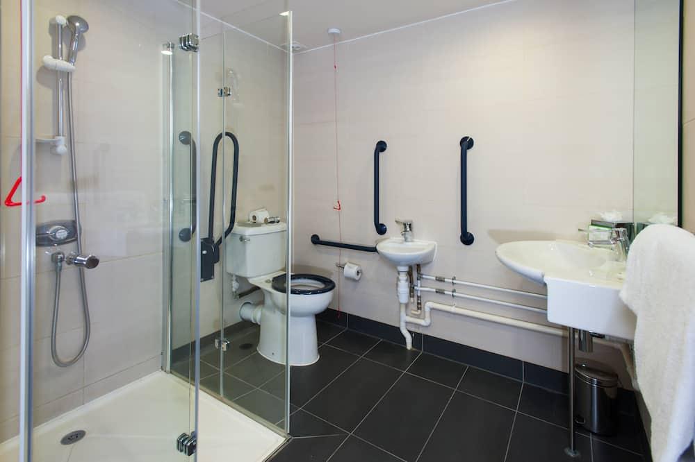 Habitación, 1 cama doble, con acceso para silla de ruedas (Mobil Accessible Tub) - Baño