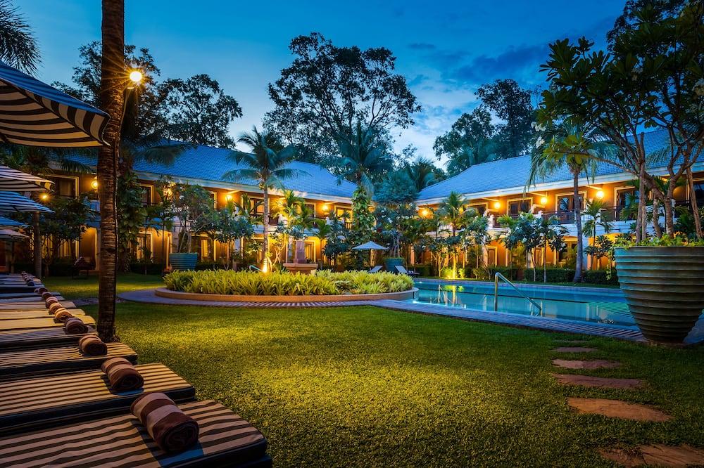 Phòng, Quang cảnh vườn, Cạnh hồ bơi (1 Twin Bed) - Quang cảnh phòng