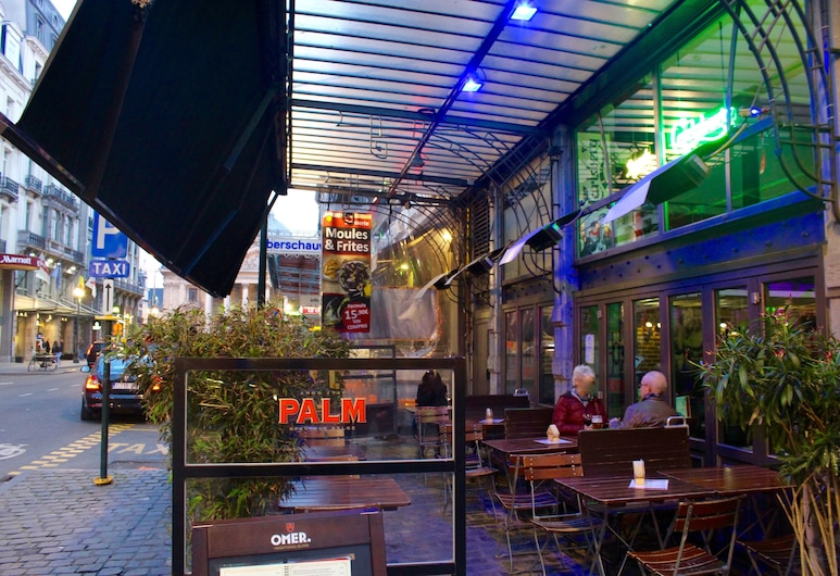 Hotel Orts, Brussels, Outdoor Dining