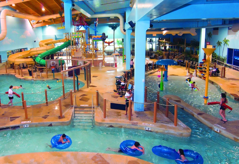 Canad Inns Destination Center Grand Forks, Grand Forks, Parque acuático