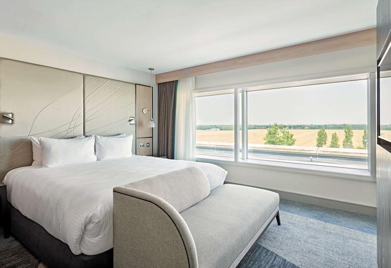 倫敦希斯洛機場凱悅嘉軒酒店, 西杜雷頓, 客房, 1 張特大雙人床, 景觀, 客房