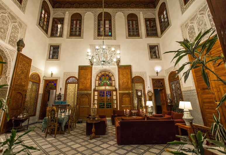Riad Damia, Fes, Standardna soba, Dnevni boravak