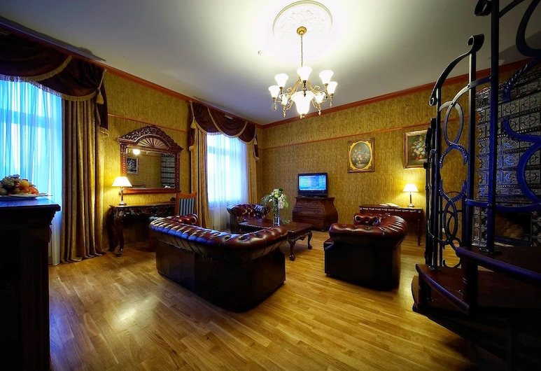 Garden Palace Hotel, Riga, Royal Suite, Living Room
