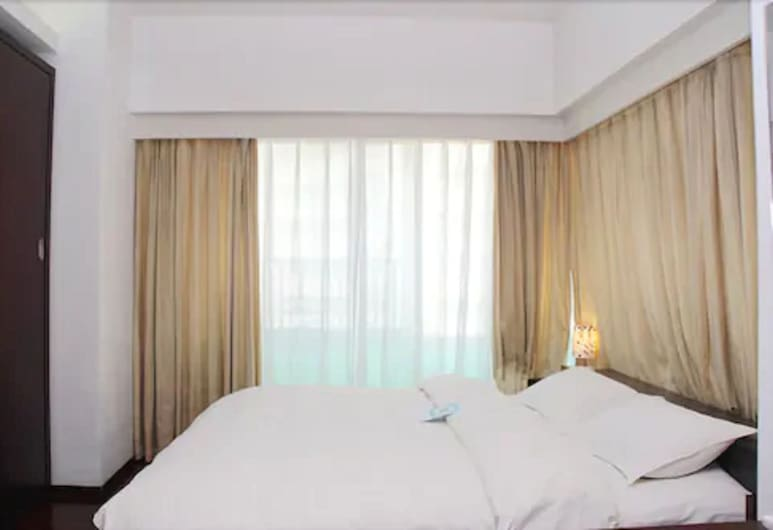 Shanghai World Union Service Apartment, Shanghai, Standard Twin Room, 2 Twin Beds, View from room