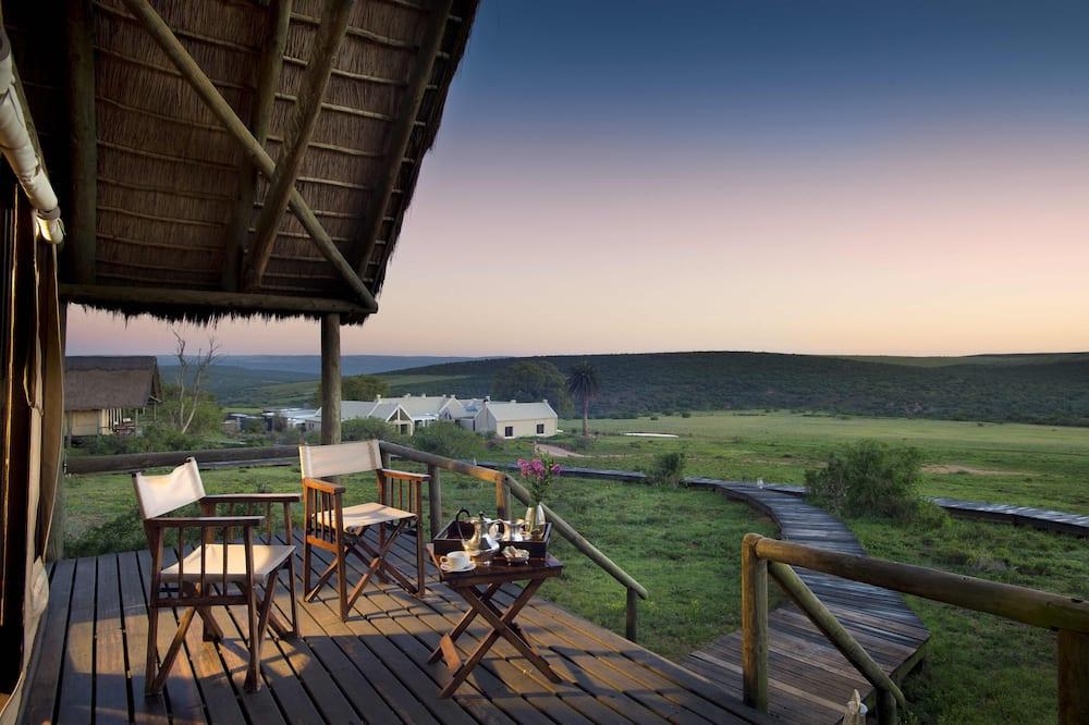 Luxury Tented Suite - Balcony View
