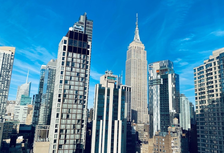 Holiday Inn Manhattan 6th Ave - Chelsea, New York, Room, 2 Double Beds, Accessible (HEARING), City View
