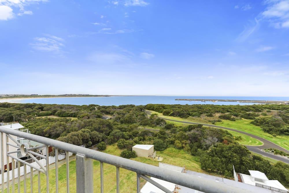 Ático panorámico, 4 habitaciones, vistas al mar - Balcón