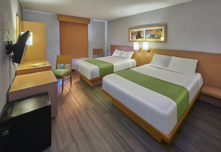 City Express Celaya Parque, Celaya, Standard Room, 2 Double Beds, Guest Room