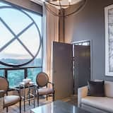 Apartmá typu Signature, 1 ložnice, rohový pokoj - Obývací prostor