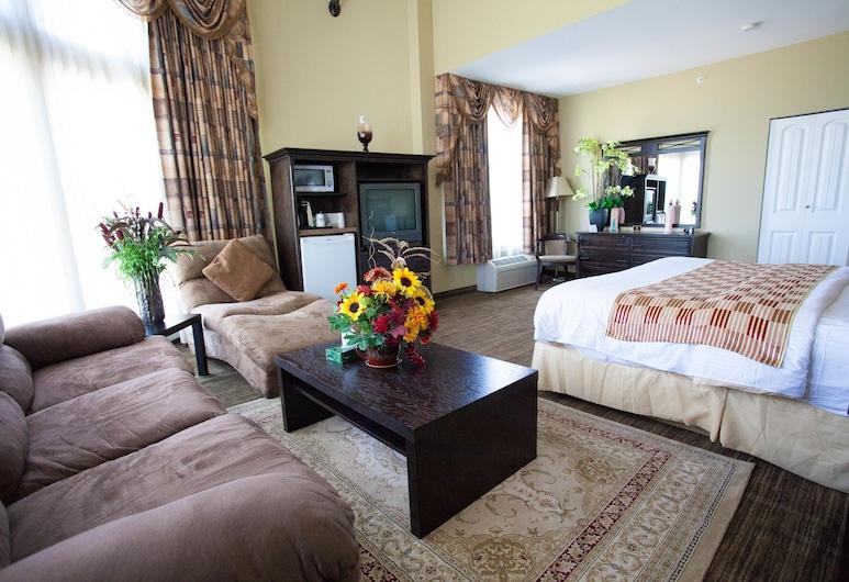 Days Inn by Wyndham Surrey, סורי, סוויטה, מיטת קינג, אזור מגורים