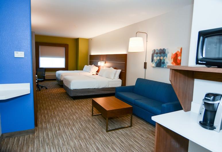 Holiday Inn Express & Suites New Boston, New Boston, Suite, 2 Katil Ratu (Queen), Non Smoking, Bilik Tamu