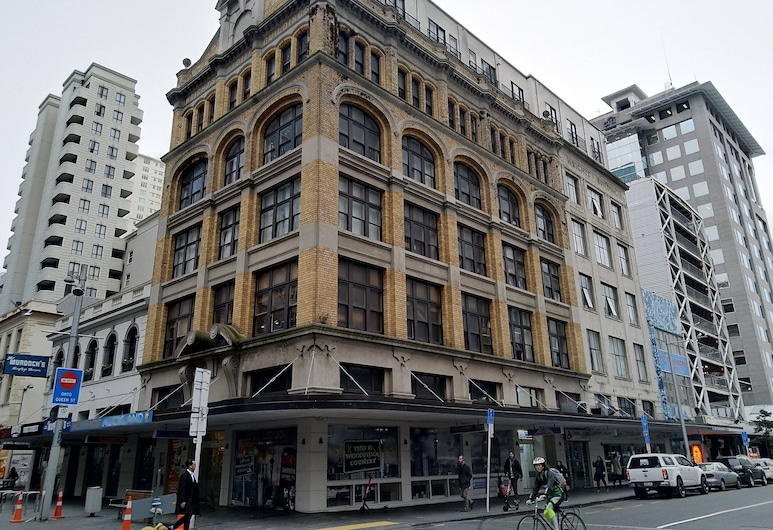 Fort Street Accommodation, Auckland, Hotel Front
