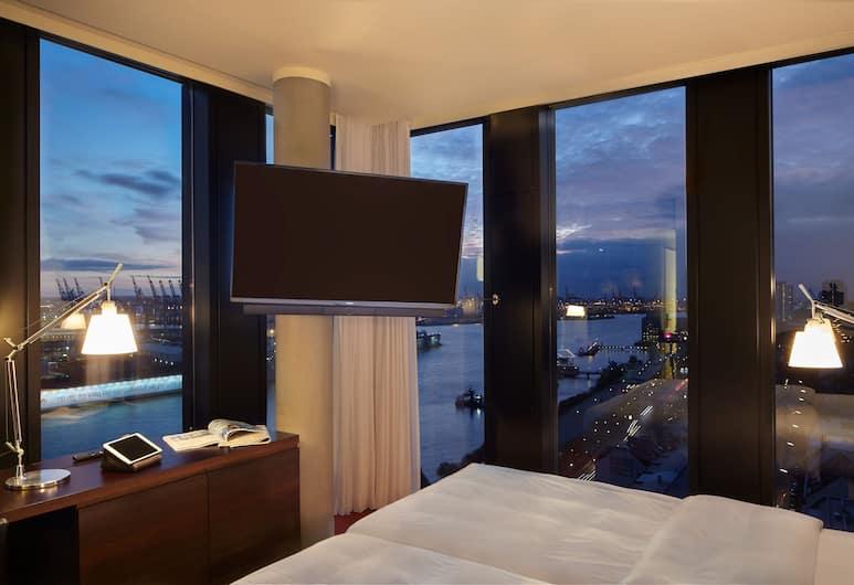 Empire Riverside Hotel, Hamburk, Jednolůžkový pokoj typu Superior, Pokoj