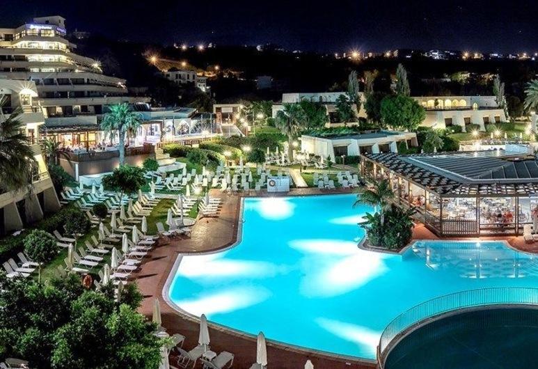 코스모폴리탄 호텔 - 올 인클루시브, 로도스, 숙박 시설 부지