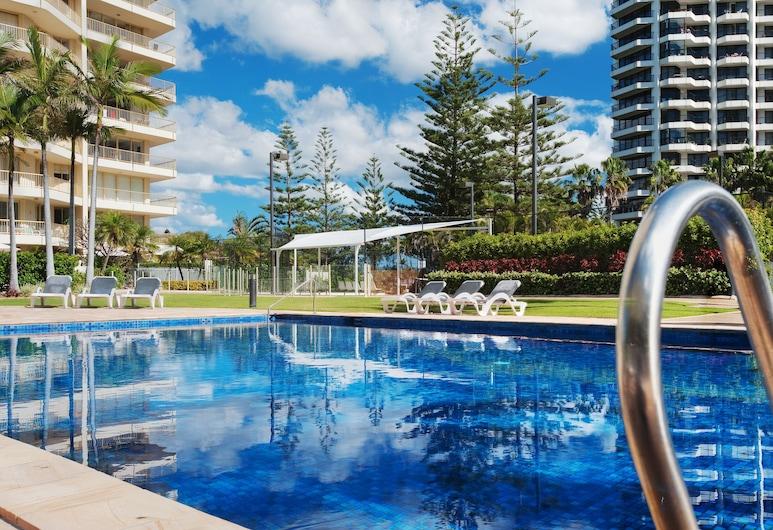 Contessa Holiday Apartments, Main Beach, Piscina al aire libre