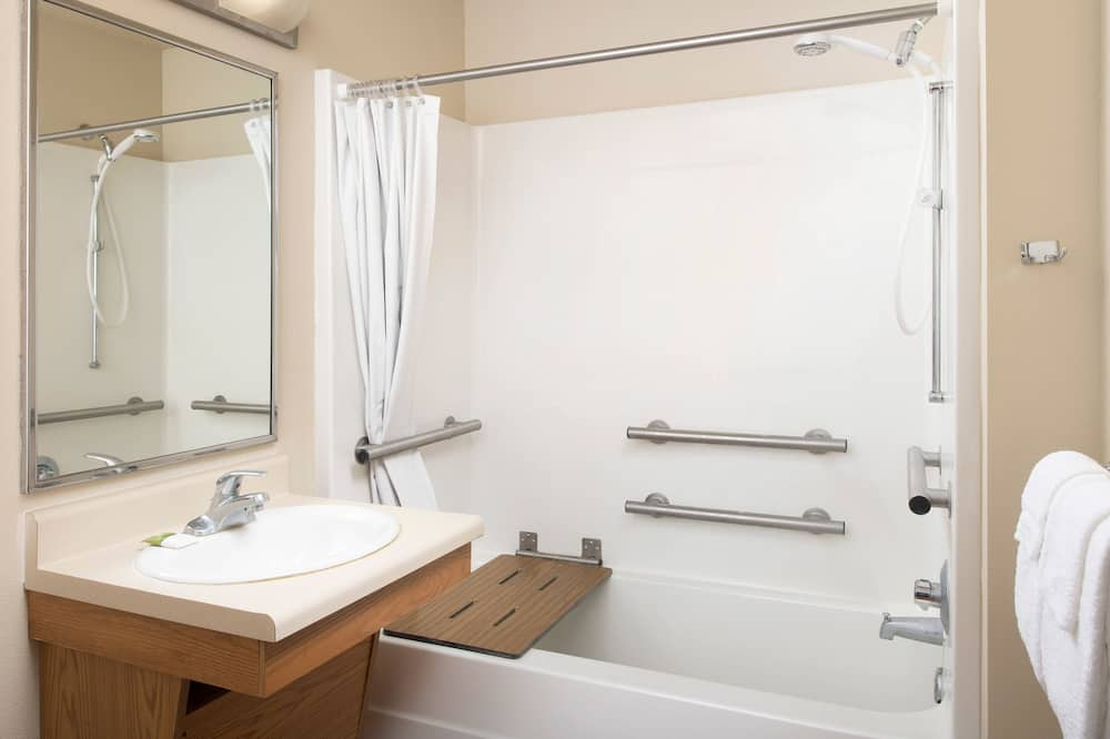 Kamar Standar, 1 Tempat Tidur Double, akses difabel, non-smoking (Bathtub) - Kamar mandi