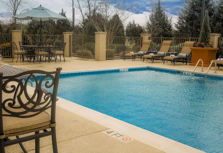 Hampton Inn & Suites Murfreesboro, מרפריסבורו, מרפסת/פטיו