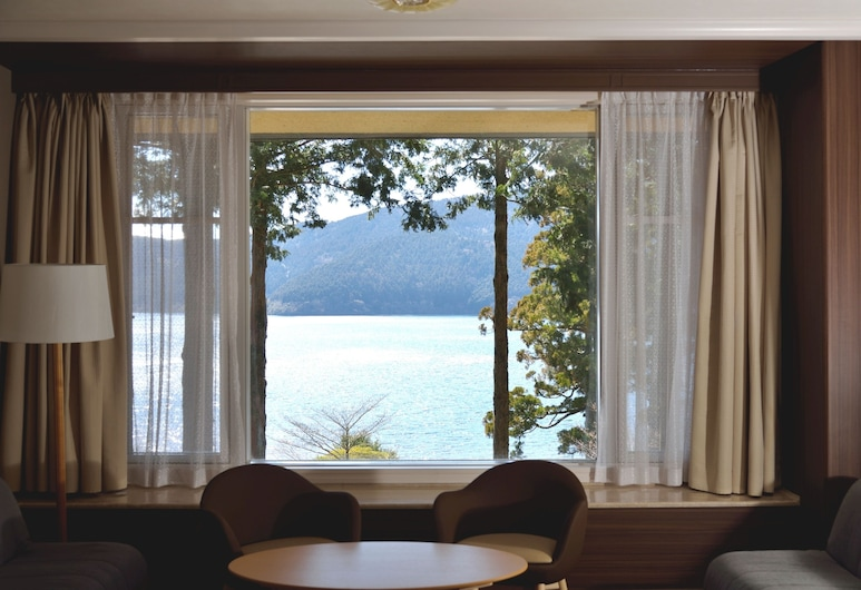 The Prince Hakone Lake Ashinoko, Hakone, Superior szoba két külön ággyal, nemdohányzó, kapcsolódó épület, Vendégszoba kilátása
