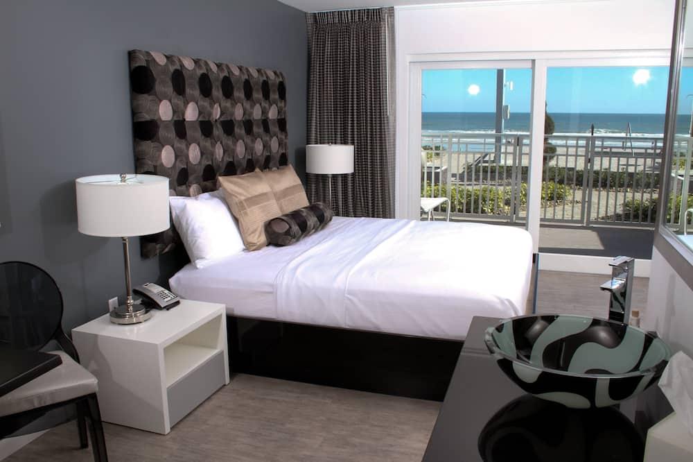 Standard-huone, 2 keskisuurta parisänkyä, Keittotila - Vierashuone