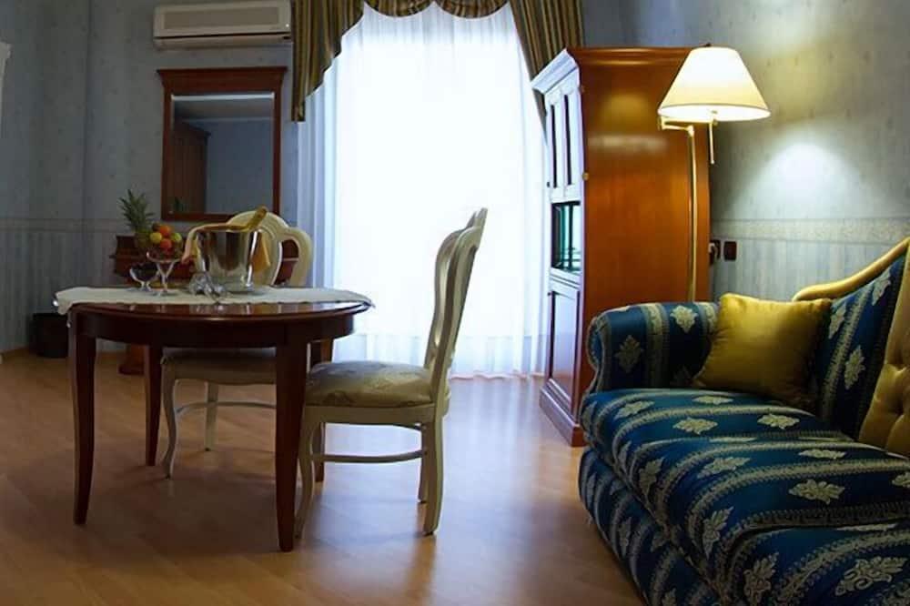 Standardværelse til 4 personer - balkon - Stue