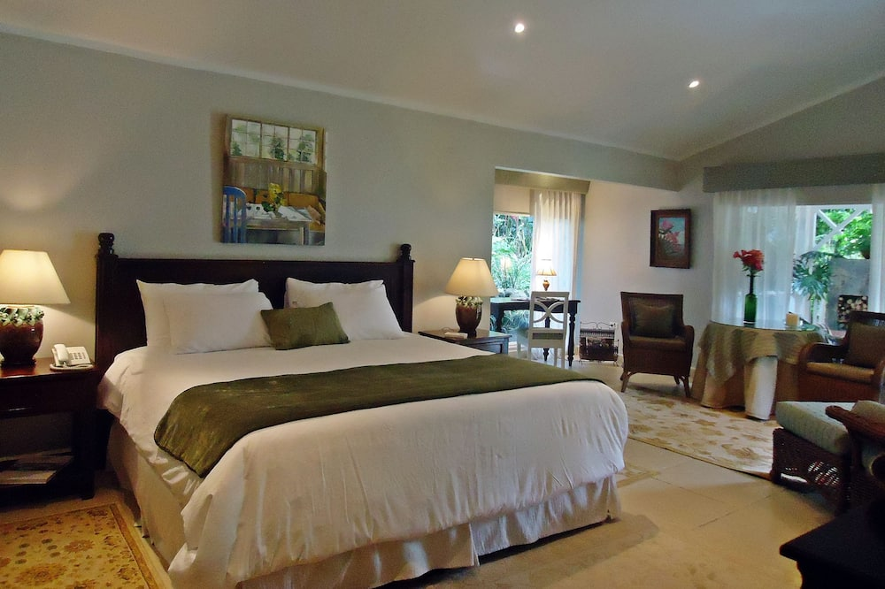 Honeymoon Suite, 1 King Bed, Mountain View - Living Area