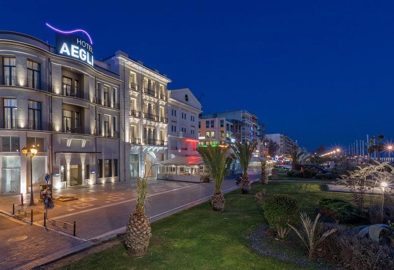 Hotel Aegli, Volos, Fachada do Hotel - Tarde/Noite