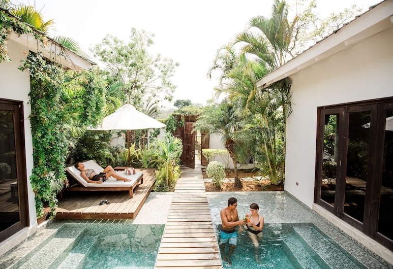 Ka'ana Resort, San Ignacio, Villa, 2 soverom (Pool Villa), Utsikt mot hage