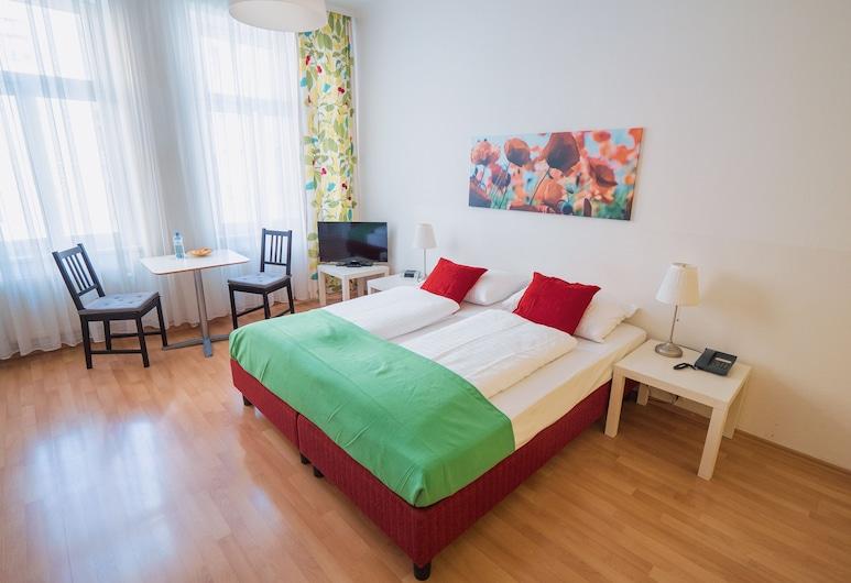Actilingua Apartment Hotel, Viena, Standartinio tipo apartamentai, 1 standartinė dvigulė arba 2 viengulės lovos, Svečių kambarys