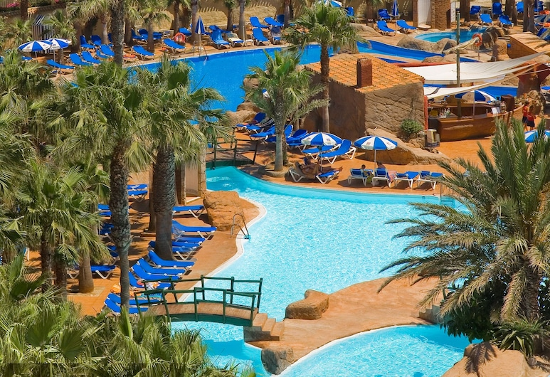 Playasol Aquapark & Spa Hotel, Roquetas de Mar, Beach