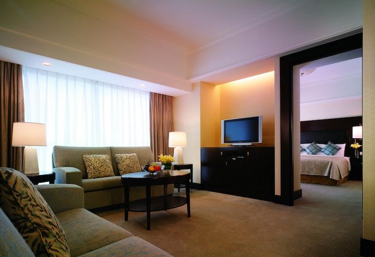 Shangri-La Hotel, Xian, Xi'an, Apartmán typu Executive, Obývačka
