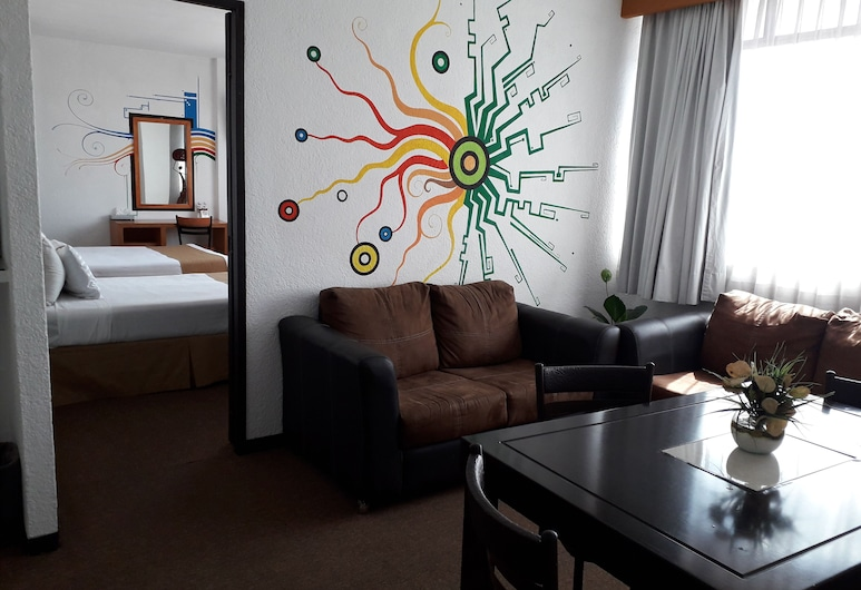 Hotel Napoles, San Luis Potosi, Double Room, 1 Double Bed, Guest Room