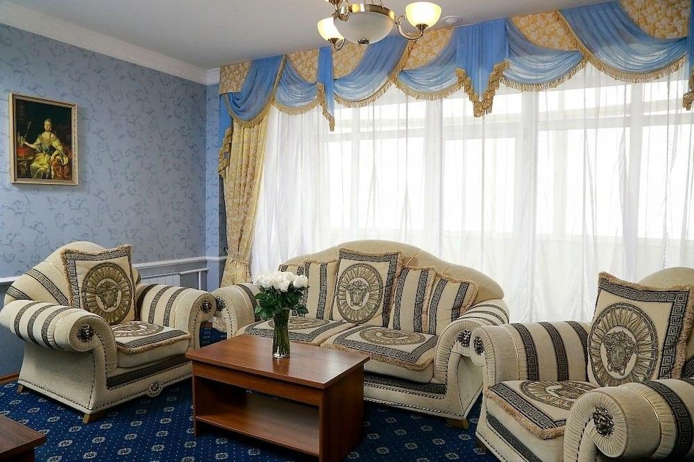 Penthouse, 1 slaapkamer - Woonkamer