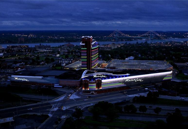 MotorCity Casino Hotel, Detroit, Aerial View
