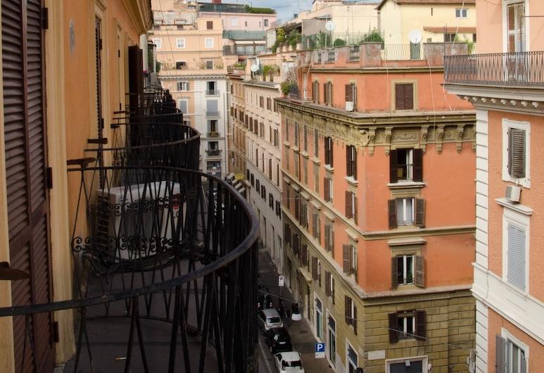 Hotel Garda, Rzym, Pokój dla 3 osób, Balkon