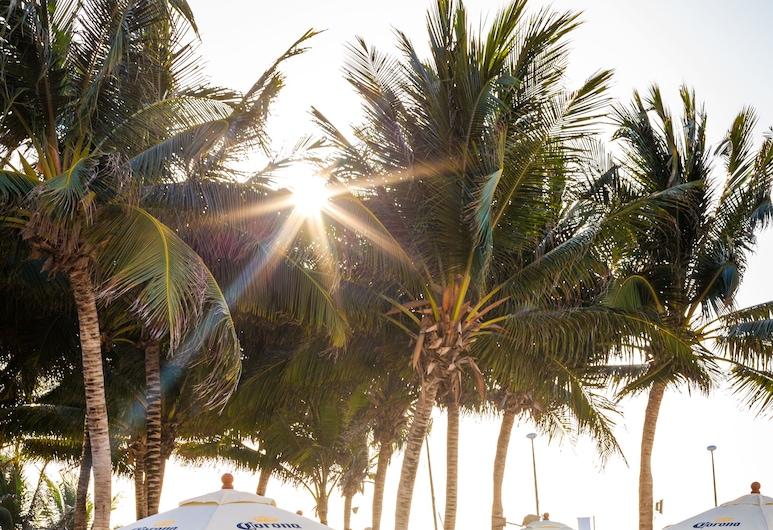 نينا هوتل آند بيتش كلوب, شاطئ كارمن, منطقة تناول وجبات الإفطار