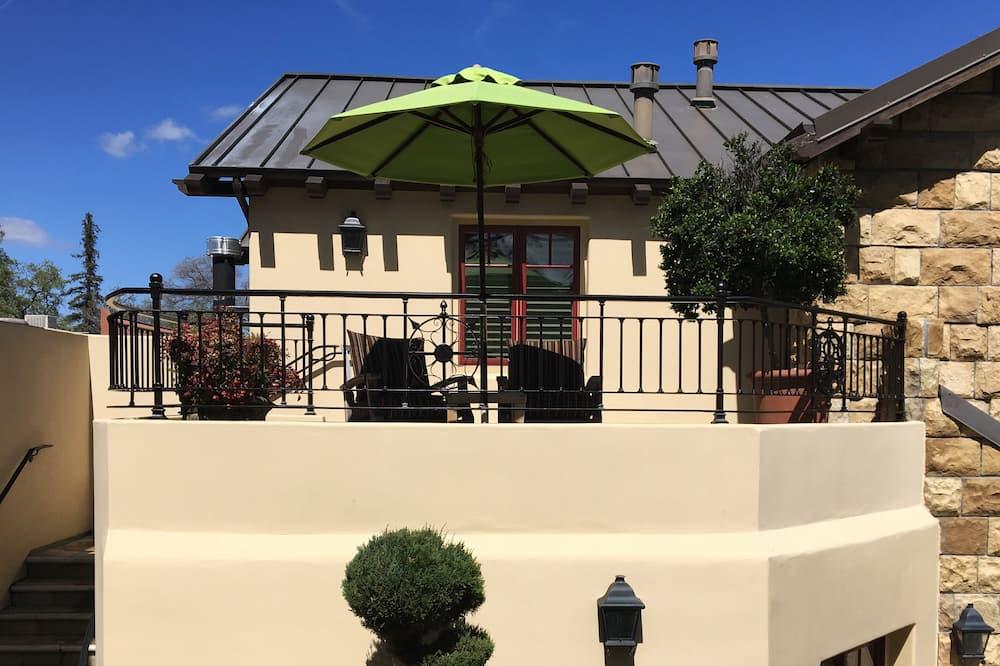 ラグジュアリー ルーム キングベッド 1 台 (California king bed) - バルコニーからの眺望