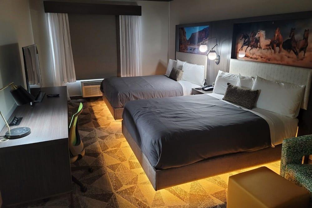Premium Room, 2 Katil Ratu (Queen), Non Smoking, Bathtub - Imej Utama