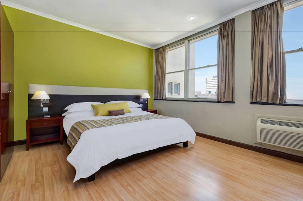 City-værelse - 1 kingsize-seng - byudsigt - Byudsigt