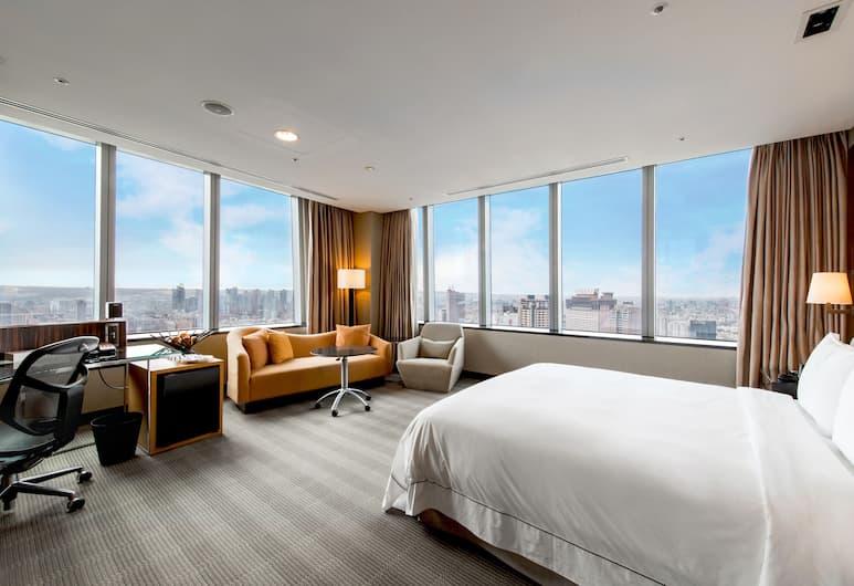 台中亞緻大飯店, 台中市, 開放式客房, 客房