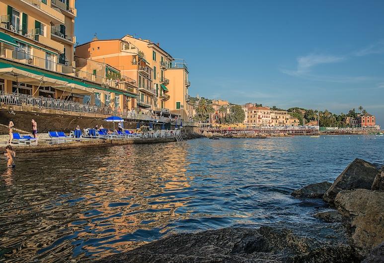 Hotel Italia e Lido Rapallo, Rapallo, Průčelí hotelu