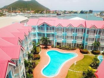 Gros Islet bölgesindeki Bay Gardens Marina Haven resmi