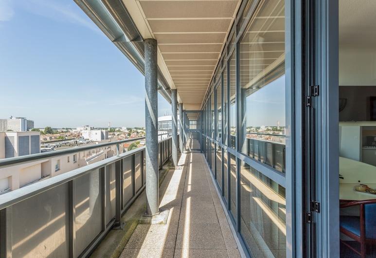 Appart'City Bordeaux Centre, Bordo, Superior Apart Daire, 2 Yatak Odası, Teras/Veranda