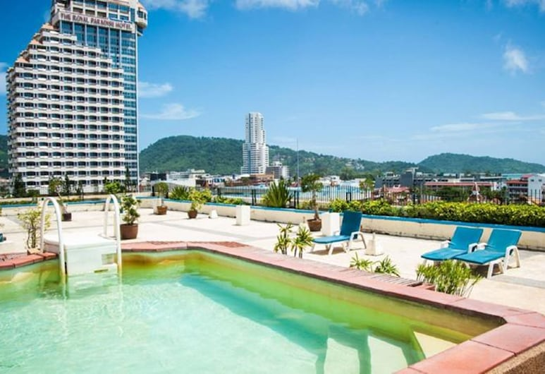 Bel Aire Resort Phuket, Patong, View from Hotel