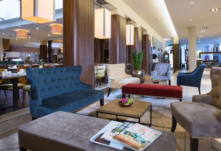 Lindner Hotel Am Michel, Hamburgo, Sala de estar en el lobby