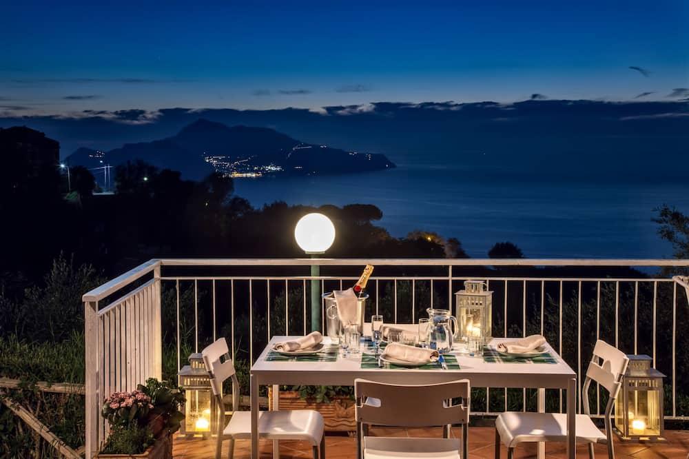 Апартаменты «Классик», 1 спальня, терраса, вид на море - Балкон